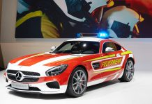 Mercedes-AMG GT S Fire Department Edition