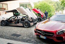 Pagani and Mercedes-AMG
