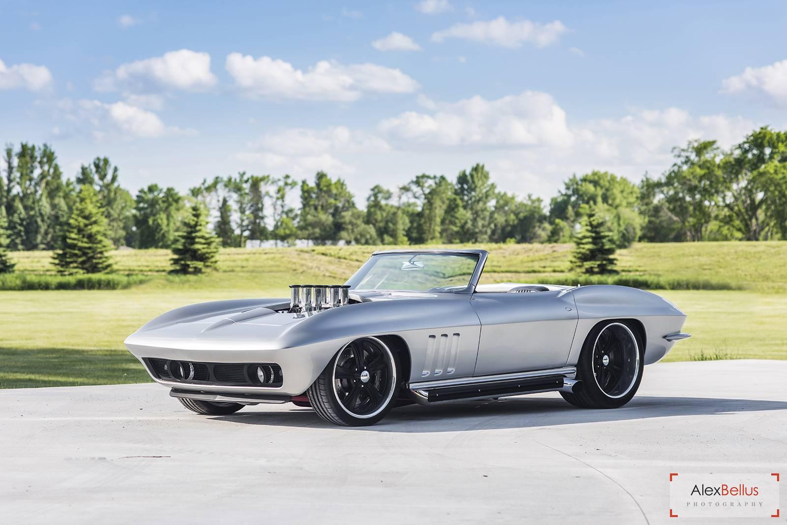 Stunning Fully Restored 1965 Silver Chevrolet Corvette