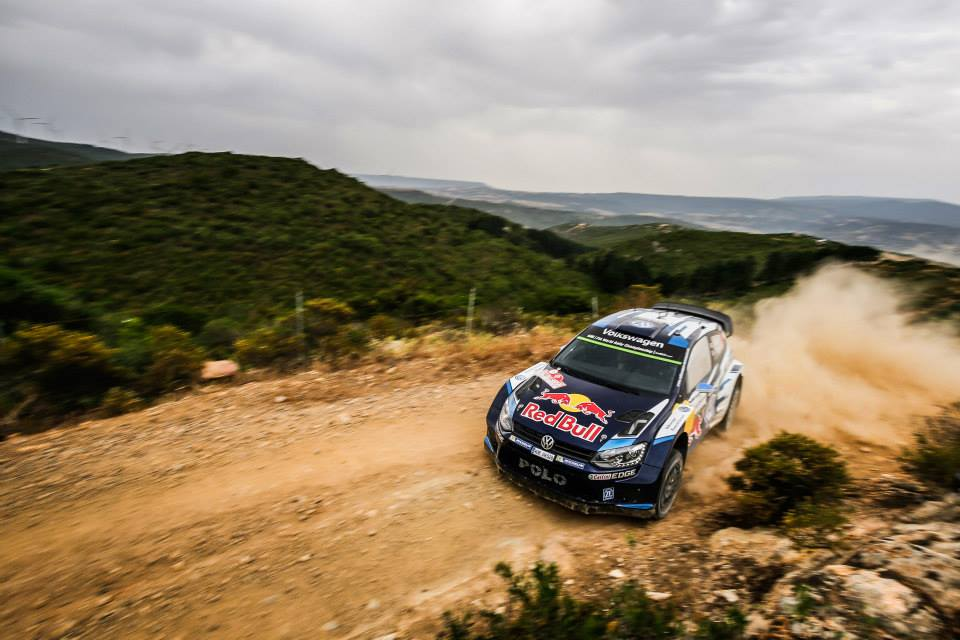 2015 FIA WRC Rally Italia Sebastien Ogier
