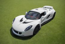 Unique White Hennessey Venom GT to be sold