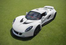 Unique White Hennessey Venom GT to be sold