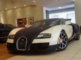 Bugatti Veyron Grand Sport Vitesse for sale in New York