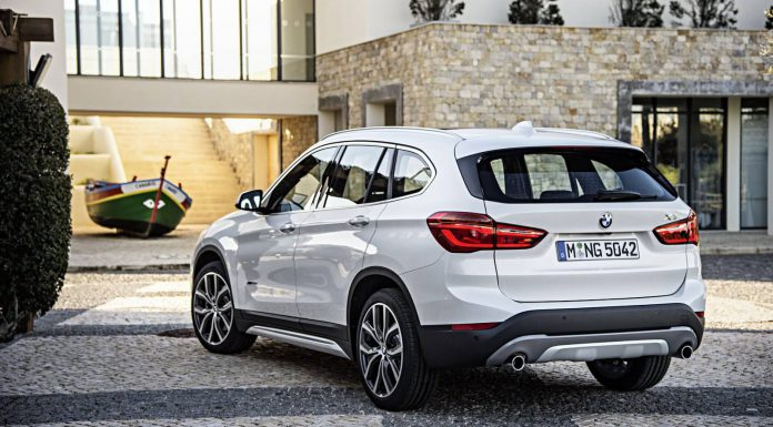 2016 BMW X1 rear