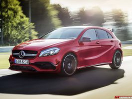 2016 Mercedes-AMG A45 front