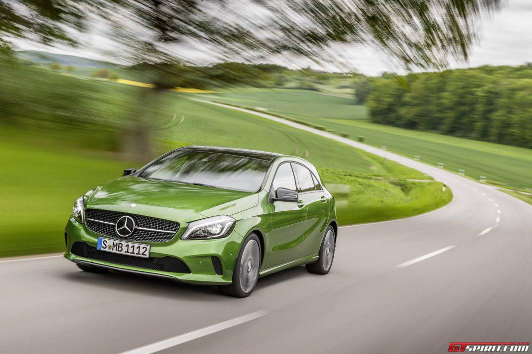 Mercedes-Benz A-Class facelift front