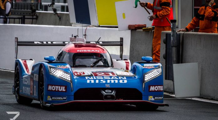 Nissan GT-R LM NISMO  24 Hours of Le Mans