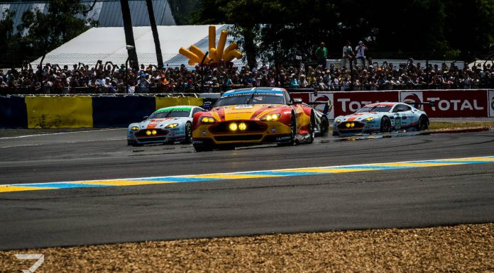 24 Hours of Le Mans Aston Martin Racing
