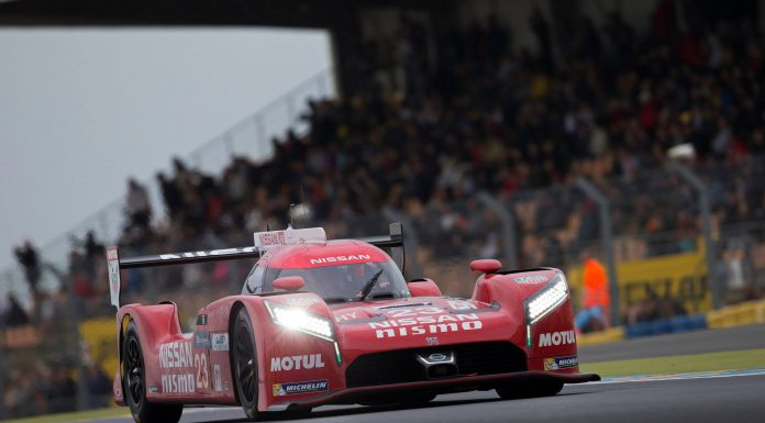 24 Hours of Le Mans Test Nissan GT-R LM Nismo