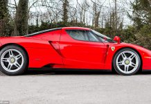 Ferrari Enzo heading to auction