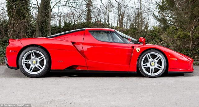 Ferrari Enzo heading to auction