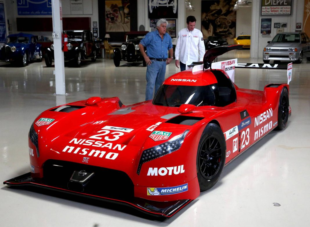 Video: Nissan GT-R LM NISMO Pays Jay Leno a Visit