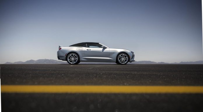 Official: 2016 Chevrolet Camaro Convertible