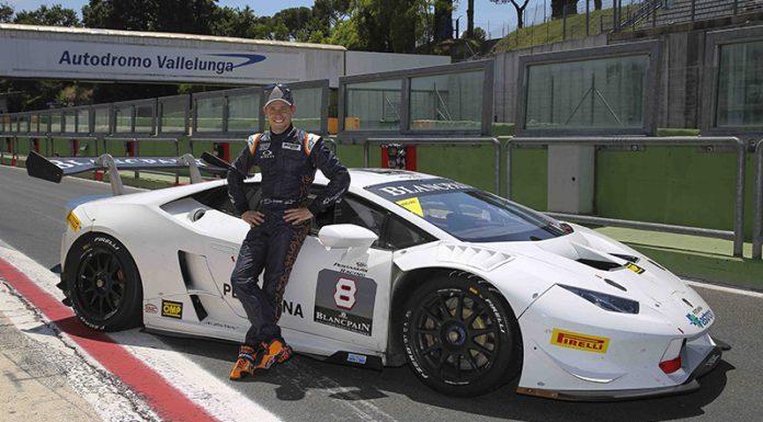 Casey Stoner drives Lamborghini Huracan LP620-2 Super Trofeo
