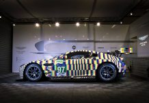 Aston Martin Reveals Vantage GTE Le Mans Art Car
