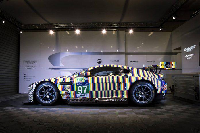 Aston Martin Reveals Vantage GTE Le Mans Art Car