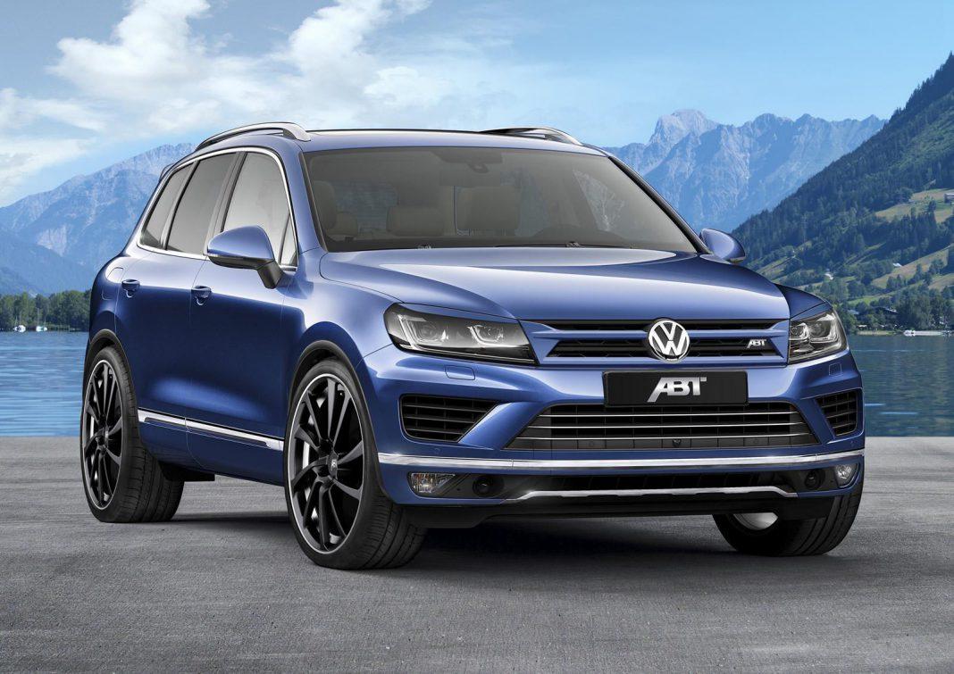 ABT Volkswagen Tiguan front