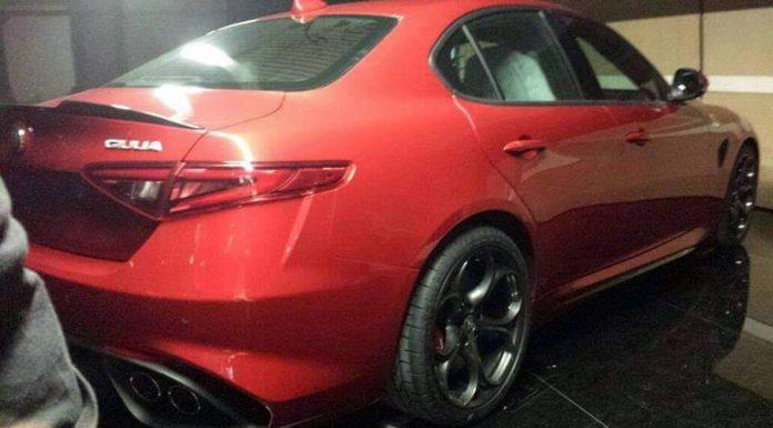 Alfa Romeo Giulia leaks