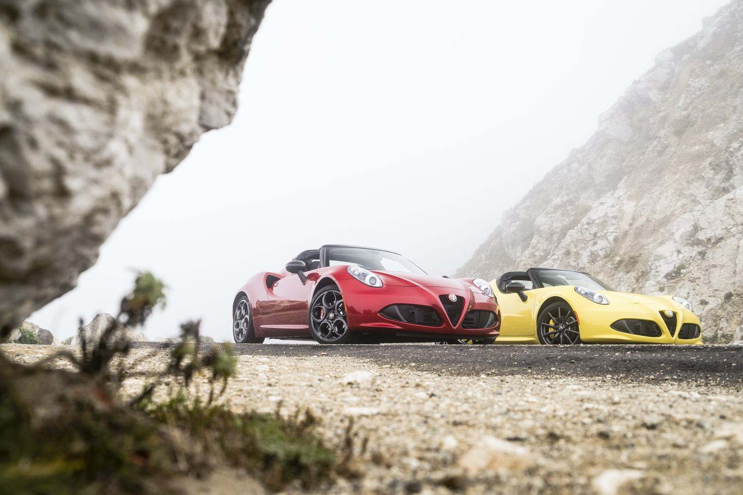2015 Alfa Romeo 4C Spider Priced from $63,900 in the US