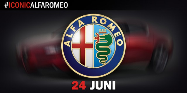 Alfa Romeo Giulia teased before June 24