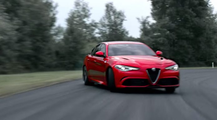 Alfa Romeo Giulia QV video