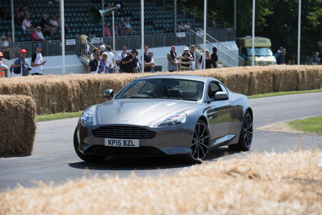 Goodwood 2015: Aston Martin DB9 GT