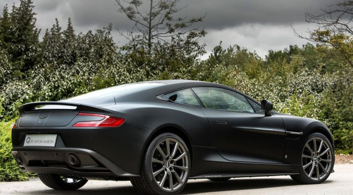 Aston Martin Vanquish One of Seven back