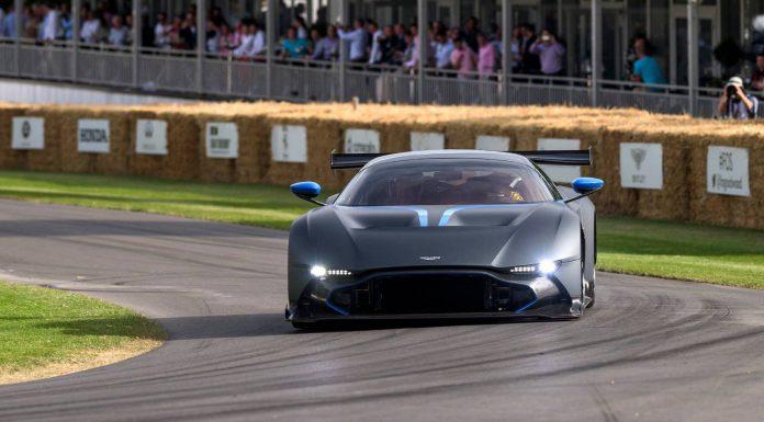 Black Aston Martin Vulcan