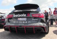 Jon Olsson's Audi RS6 DTM at Supercar Sunday