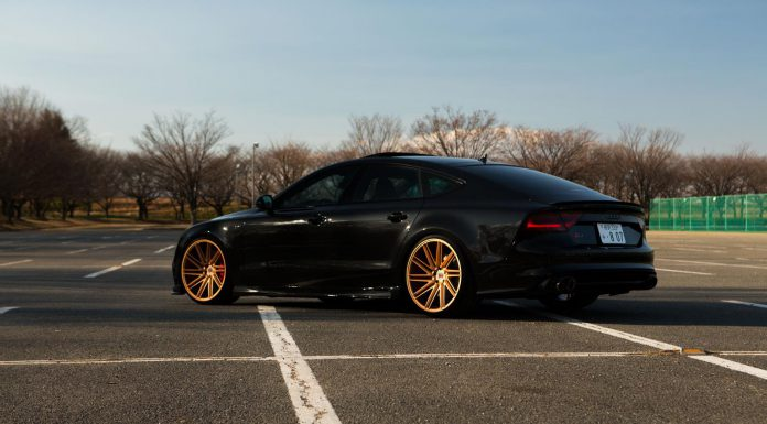 Stunning Audi RS7 + Vossen Wheels