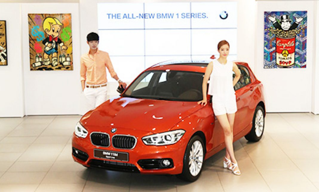 BMW 1 Series Facelift South Korea