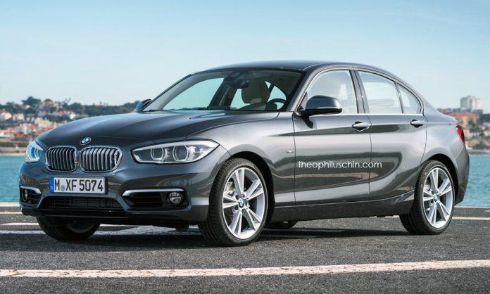 BMW 1-Series Sedan rendered