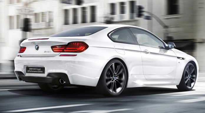 BMW 640i Coupe M Performance Edition rear