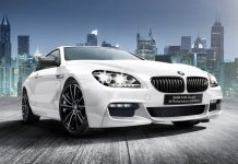 BMW 640i Coupe M Performance Edition front