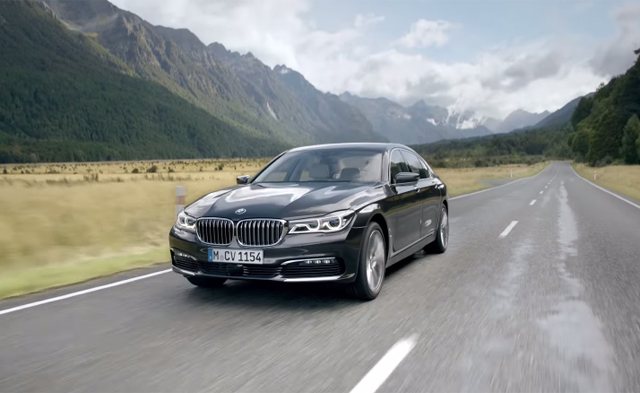 BMW 7-Series stars in official videos