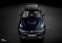 Special BMW Individual M4 revealed