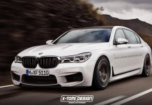 BMW M7 rendered