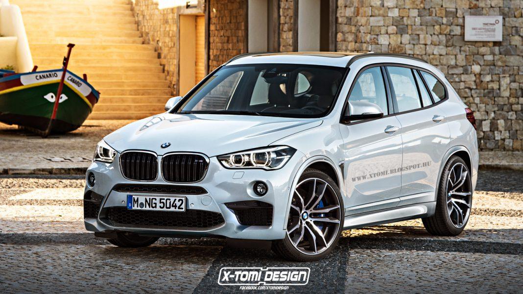 BMW X1 M rendered