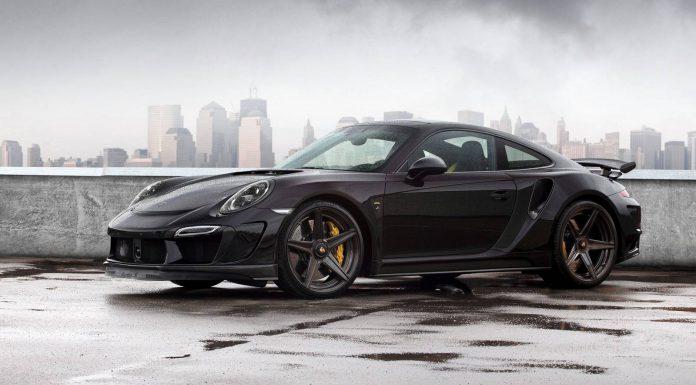 TopCar Reveals Black Porsche 911 Stinger GTR