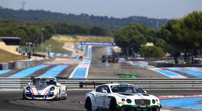 Blancpain GT Paul Ricard 1000KM Race Bentley