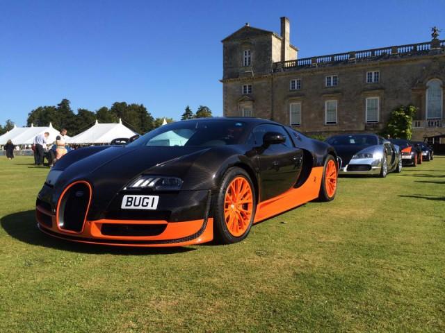 Bugatti Veyron Wilton House