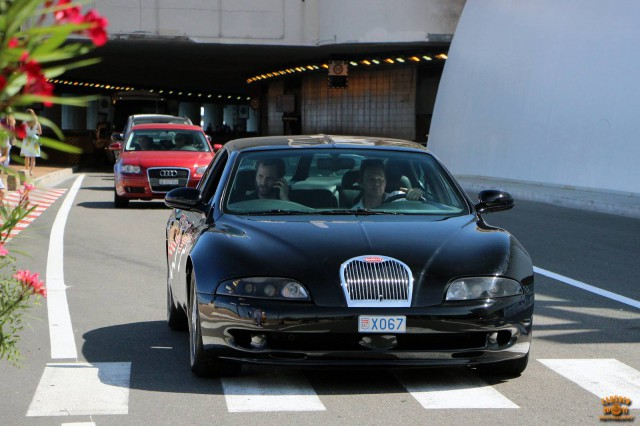 Bugatti EB112 front