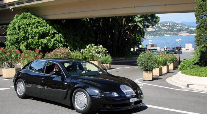 Bugatti EB112 front side