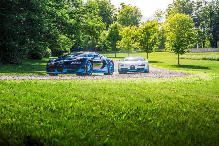 Bluegatti and Bugatti Veyron Vitesse