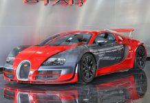 Unique Bugatti Veyron Super Sport in Dubai