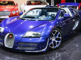 Rare Bugatti Veyron Vitesse for sale