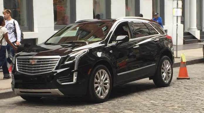 Cadillac XT5 undisguised front