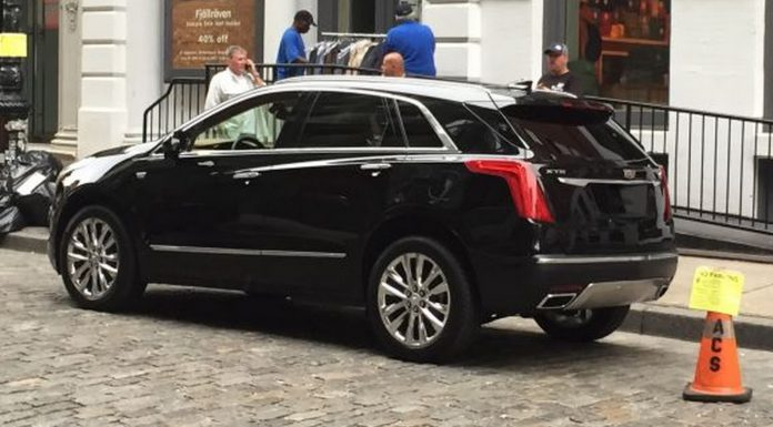 Cadillac XT5 undisguised rear