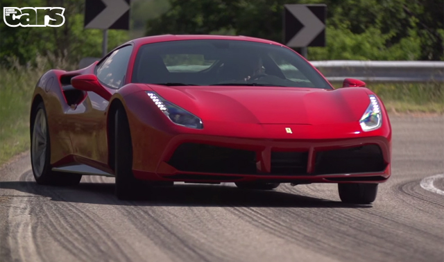 Ferrari 488 GTB hits 341 km/h!