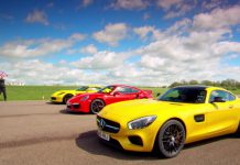 Jeremy Clarkson, Richard Hammond, James May test Mercedes-AMG GT S, Porsche 911 Turbo and Corvette Z06
